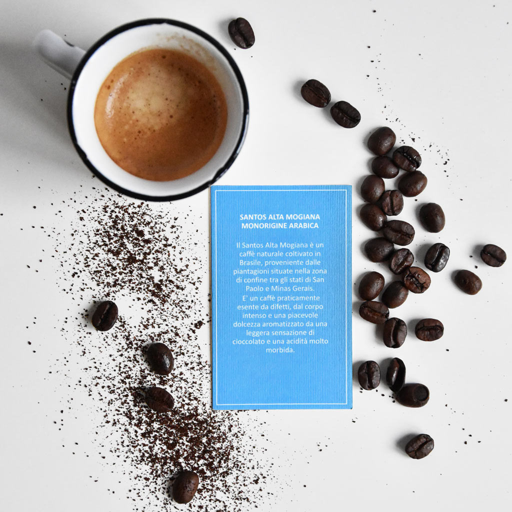 CAFFE' SANTOS ALTA MOGIANA MONORIGINE...