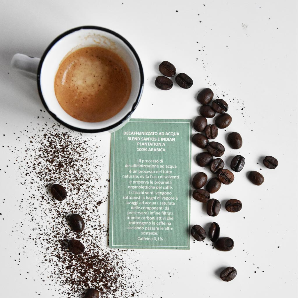 CAFFE' DECAFFEINIZZATO AD ACQUA
