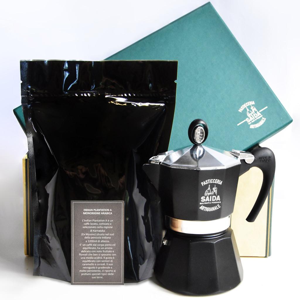 CAFFETTIERA SAIDA CON CAFFE' INDIAN...